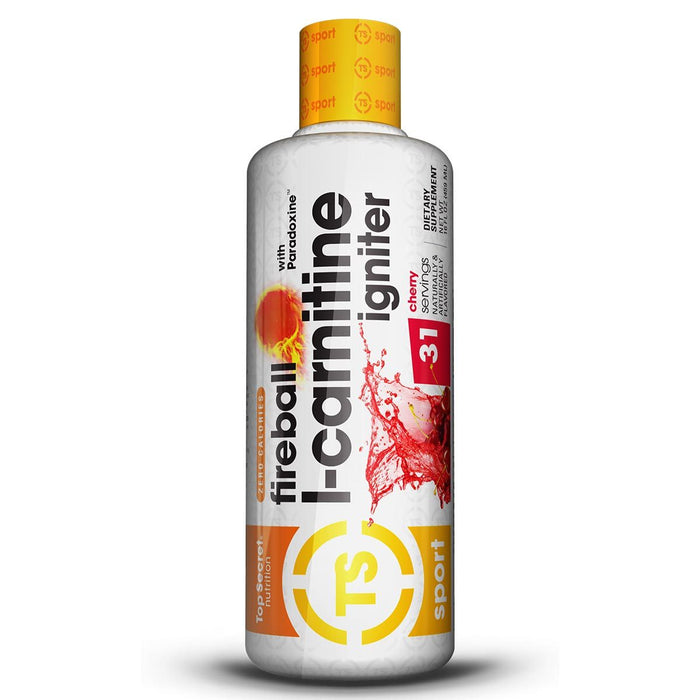 TOP SECRET NUTRITION Sports Nutrition & More Cherry Top Secret Nutrition Fireball L-Carnitine Igniter (787016646700)