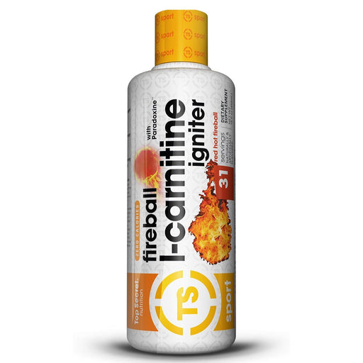 TOP SECRET NUTRITION Sports Nutrition & More Apple Top Secret Nutrition Fireball L-Carnitine Igniter (787016646700)