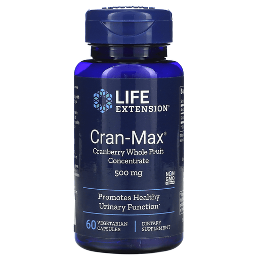 Life Extension Vitamins, Minerals, Herbs & More Life Extension Cran-max Cranberry Extract 500mg 60 Vegecaps