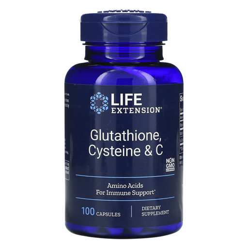 Life Extension Sports Nutrition & More Life Extension Glutathione, Cysteine and C 100 Caps
