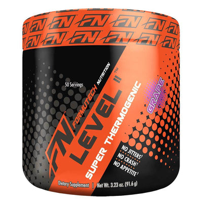 Formutech Nutrition Fat Burner Grape Formutech Level II 50 Servings (1392980787244)