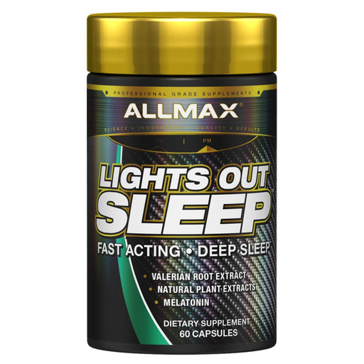 Allmax Nutrition Specialty Health Products Default Allmax Nutrition Lights Out Sleep 60 Capsules (1183636226092)