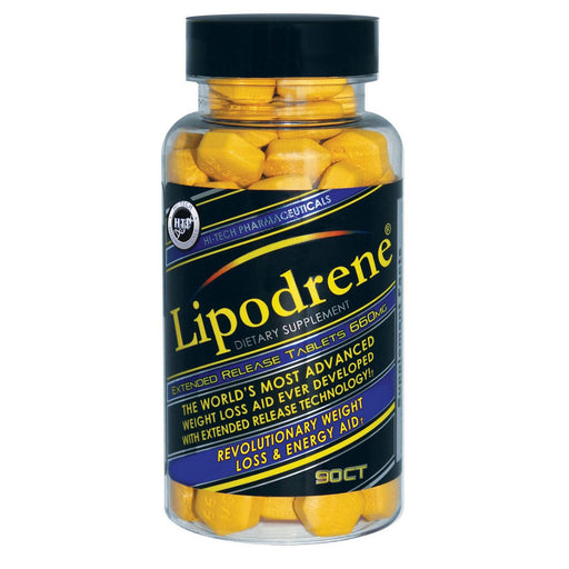 Hi-Tech Pharmaceuticals Sports Nutrition & More Hi-Tech Pharmaceuticals Lipodrene 90 Tabs (Ephedra/DMAA Free) (582653739052)