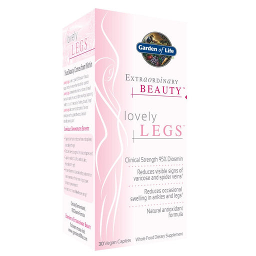 Garden of Life Vitamins, Minerals, Herbs & More Garden of Life Extraordinary Beauty Lovely Legs 30 Caps (580981129260)