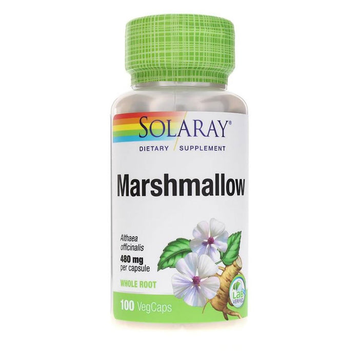 Solaray Vitamins, Minerals, Herbs & More Solaray Marshmallow Root 480mg 100 caps (580505927724)