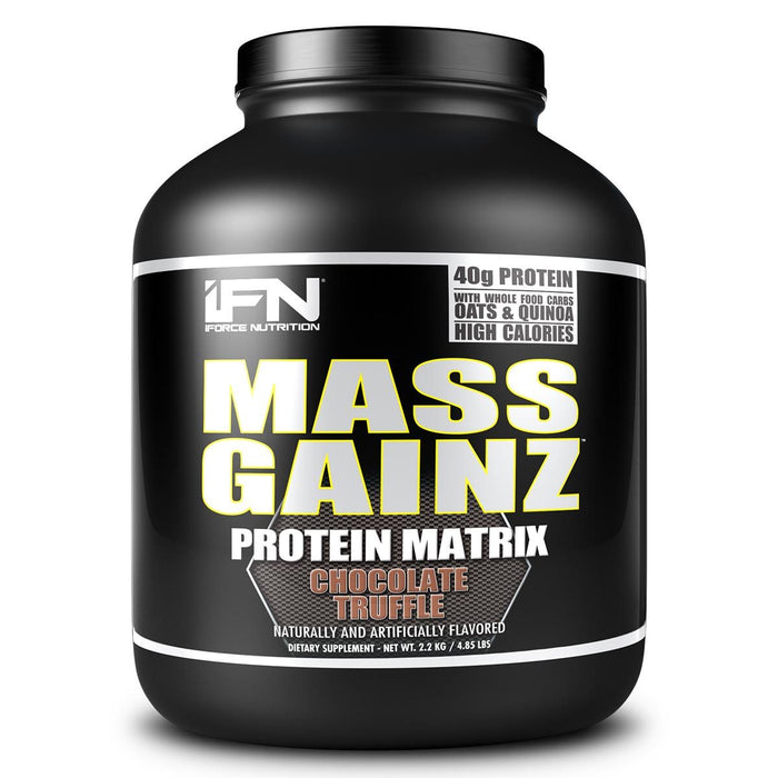 IFORCE Sports Nutrition & More Chocolate Truffle IFORCE Mass Gainz 4.85 Lbs (582128369708)