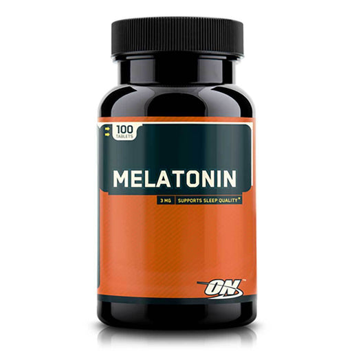 Optimum Nutrition Vitamins, Minerals, Herbs & More Optimum Nutrition Melatonin 3mg 100 Tablets (581625282604)
