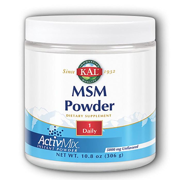 Kal Sports Nutrition & More Kal MSM Powder 5mg 10.8 Oz. (580490592300)