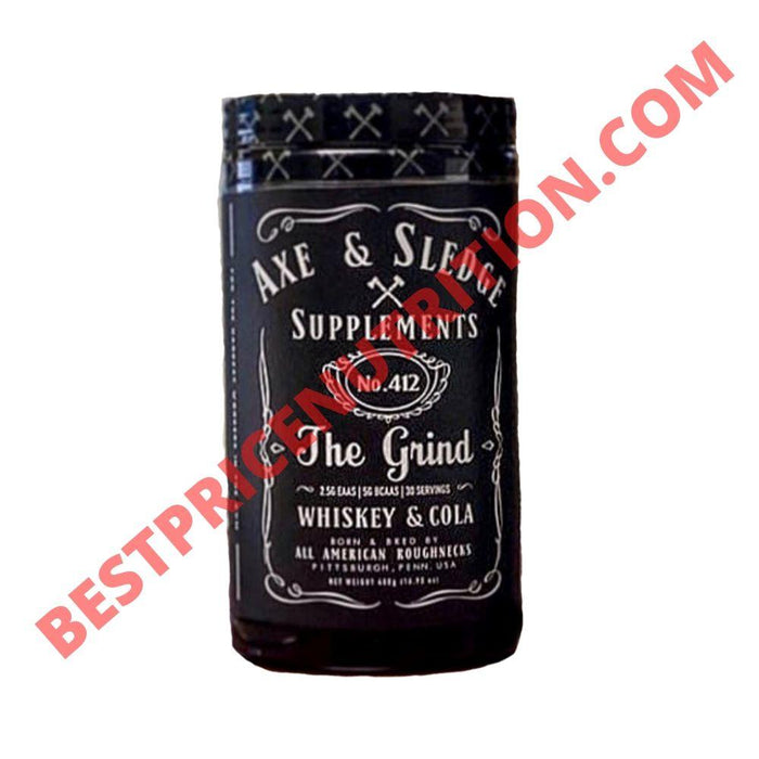 Axe & Sledge Grind 30 Servings Whiskey & Cola (3828781613100)