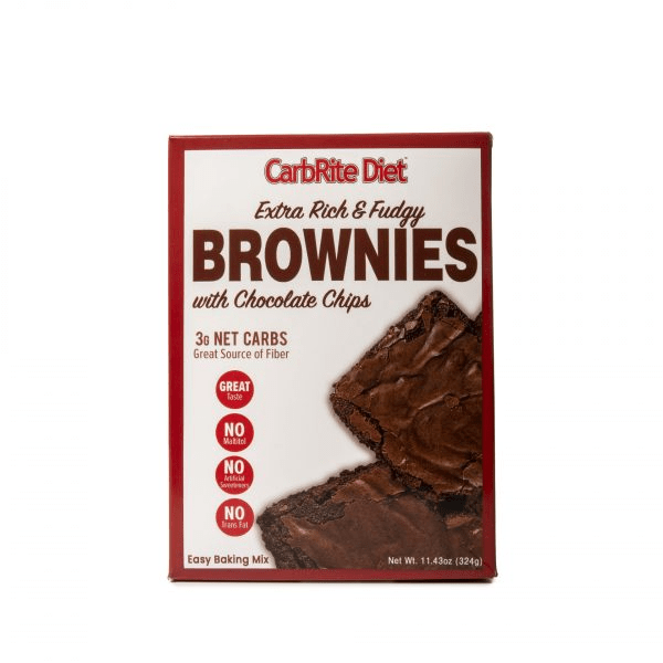 Universal Foods & - Juices CarbRite Maltitol Free Brownie Mix 11.43oz (4613858394227)
