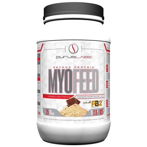 Purus Labs Sports Nutrition & More Chocolate Peanut Butter Purus Labs Myofeed PB2 2Lbs (582475055148)