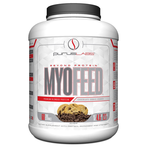 Purus Labs Sports Nutrition & More Chocolate Cookie Crunch Purus Labs Myofeed 4.4 Lbs (582108872748)