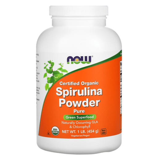 Now Foods Sports Nutrition & More Now Foods Spirulina Powder Organic 1 Lb