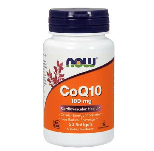 Now Foods Sports Nutrition & More Now Foods CoQ10 100mg 50 Gels