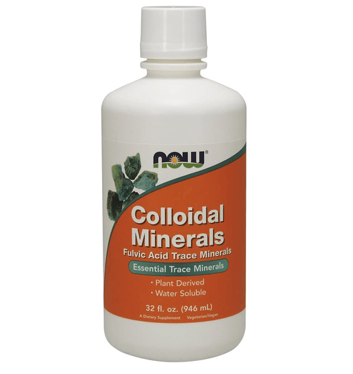 Now Foods Vitamins, Minerals, Herbs & More Now Foods Colloidal Minerals Original  Flavor 32 oz
