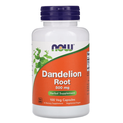 Now Foods Vitamins, Minerals, Herbs & More Now Foods Dandelion Root 500 Mg 100 Capsules