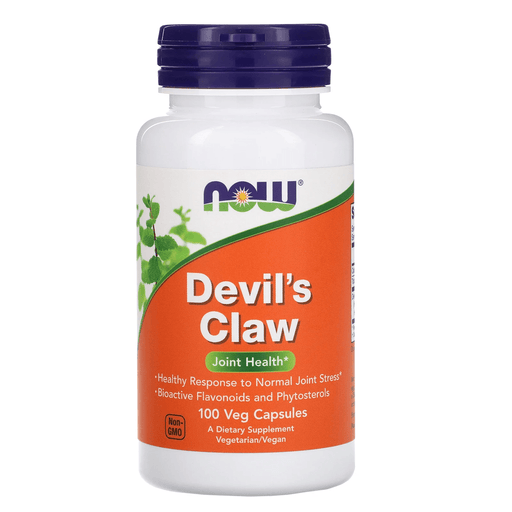 Now Foods Vitamins, Minerals, Herbs & More Now Foods Devil's Claw Root 500 Mg 100 Capsules