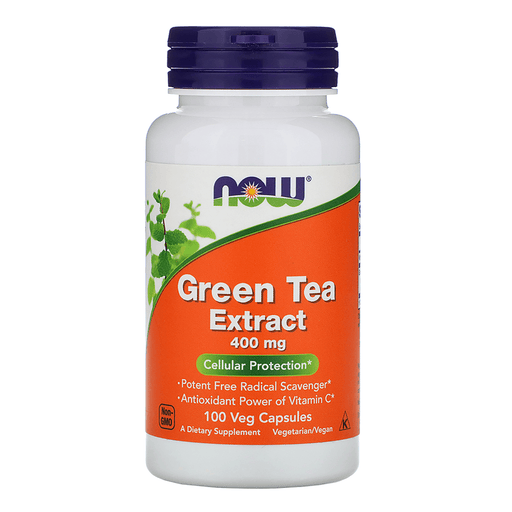 Now Foods Vitamins, Minerals, Herbs & More Now Foods Green Tea Extract 400mg 100 Caps