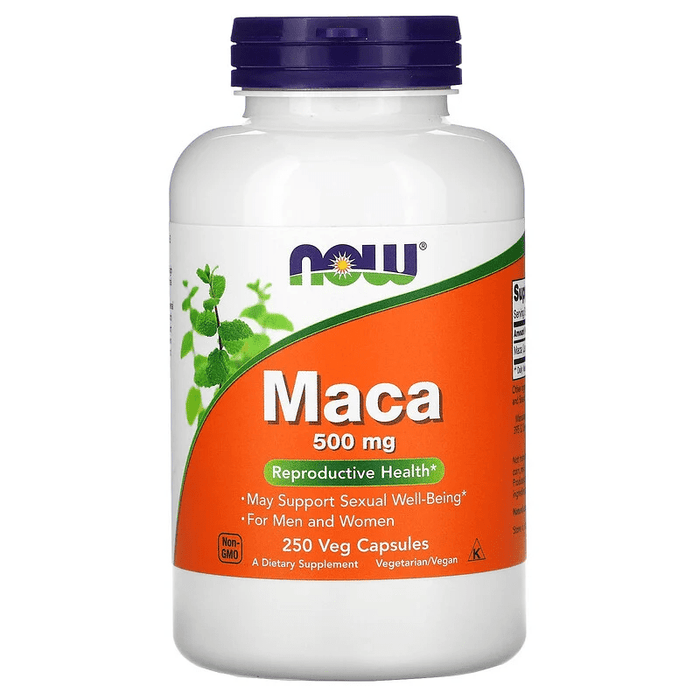 Now Foods Vitamins, Minerals, Herbs & More Now Foods Maca 500 Mg 250 Capsules