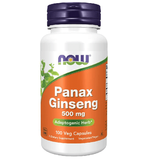 Now Foods Vitamins, Minerals, Herbs & More Now Foods Panax Ginseng 500 Mg 100 Capsules