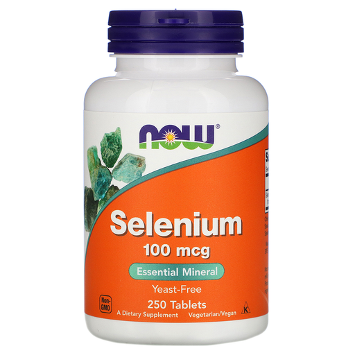 Now Foods Vitamins, Minerals, Herbs & More Now Foods Selenium 100 Mcg 250 Tablets