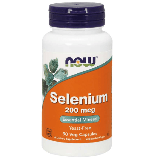 Now Foods Vitamins, Minerals, Herbs & More Now Foods Selenium 200 Mcg 90 Vegetable Capsules