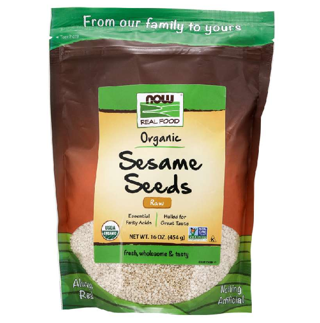 Now Foods Foods & - Juices Default Now Foods Sesame Seeds Hulled 16oz