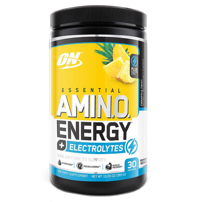 Optimum Nutrition Sports Nutrition & More + Electrolytes Pineapple Twist Optimum Nutrition Amino Energy 30 Servings (581173674028)