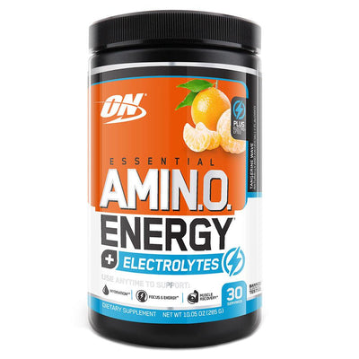Optimum Nutrition Sports Nutrition & More + Electrolytes Tangerine Wave Optimum Nutrition Amino Energy 30 Servings (581173674028)