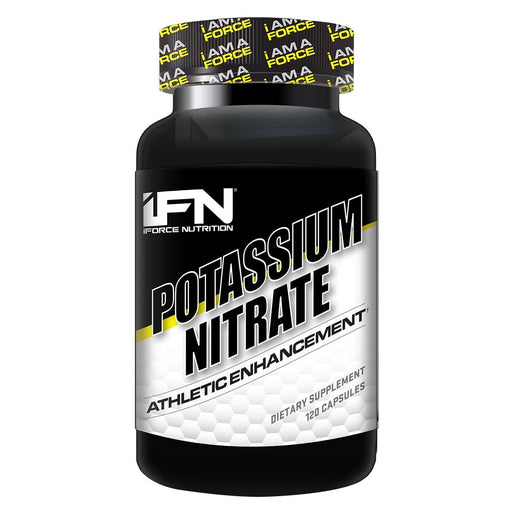 IFORCE Sports Nutrition & More IFORCE Potassium Nitrate 120 Caps (581670371372)