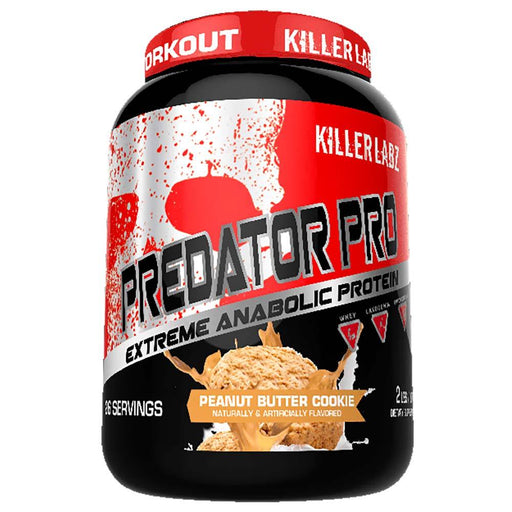 Killer Labz Protein Powders PEANUT BUTTER COOKIE Killer Labz Predator Protein Pro (1457733664812)