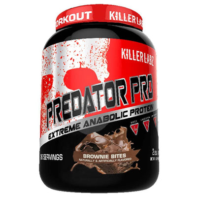 Killer Labz Protein Powders BROWNIE BITES Killer Labz Predator Protein Pro (1457733664812)