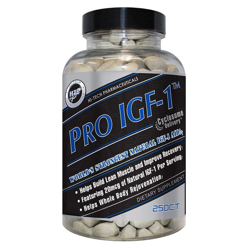 Hi-Tech Pharmaceuticals Sports Nutrition & More Hi-Tech Pharmaceuticals Pro IGF-1 250ct (582590365740)