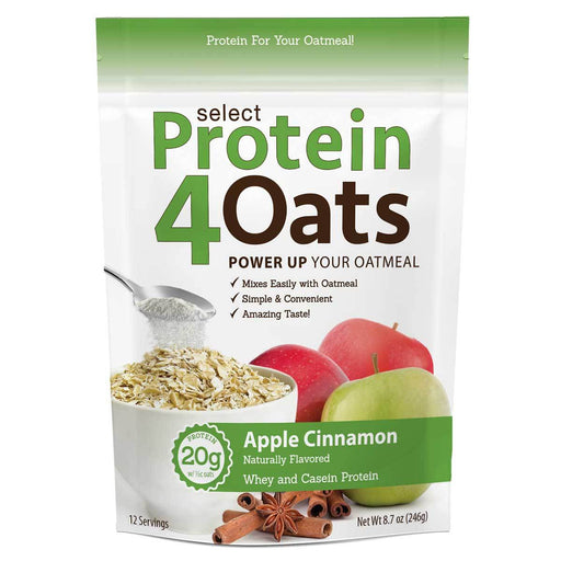 PEScience Foods & - Juices Cinnamon Apple PEScience Protein 4 Oats 20 Servings (582642696236)
