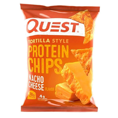 Quest Nutrition Foods & - Juices Nacho Cheese Quest Protein Tortilla Chips 8/Box (1104453500972)