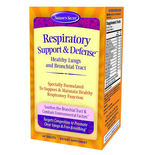 Nature's Secret Vitamins, Minerals, Herbs & More Nature's Secret Respiratory Cleanse and Defense 60 Tabs (581242159148)