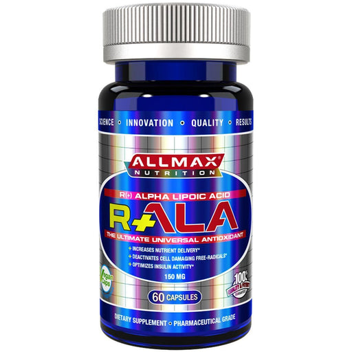 Allmax Nutrition Sports Nutrition & More Allmax Nutrition R-ALA 150mg 60 Caps (581323685932)