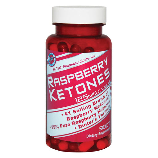 Hi-Tech Pharmaceuticals Sports Nutrition & More Hi-Tech Pharmaceuticals Raspberry Ketones  90 Capsules (581745639468)