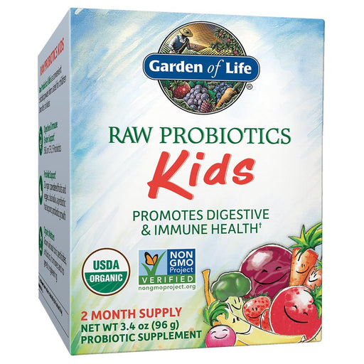 Garden of Life Vitamins, Minerals, Herbs & More Garden of Life Raw Probiotics Kids 3.4 Oz (581207556140)