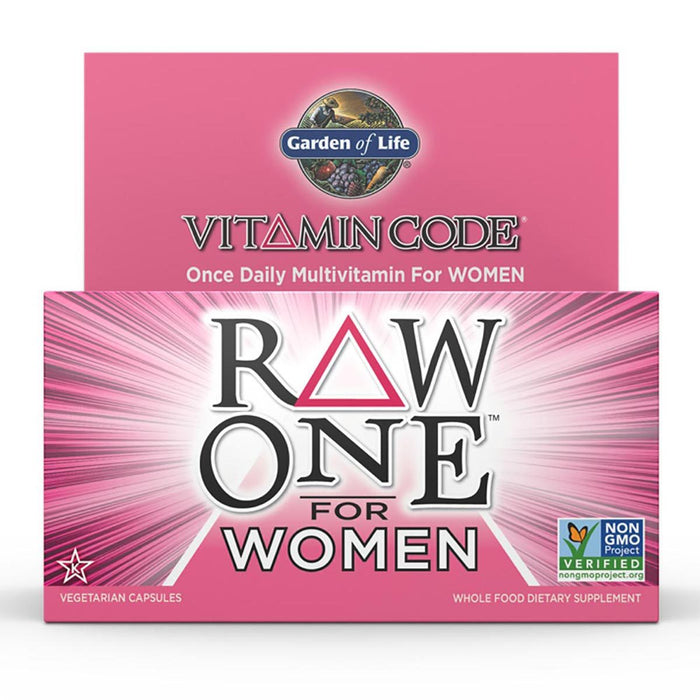 Garden of Life Vitamins, Minerals, Herbs & More Garden of Life Vitamin Code Raw One for Women 30 Caps (581198282796)
