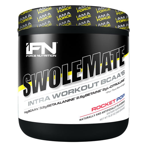 IFORCE Sports Nutrition & More Rocket Pop IFORCE Swolemate 30 Servings (582612942892)