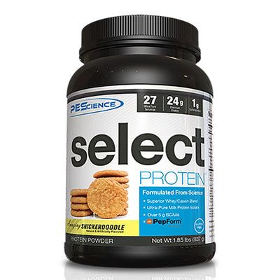 PEScience Protein Powders Snickerdoodle PEScience Select Protein 27 Servings (581928288300)