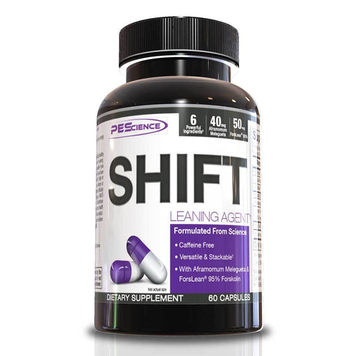 PEScience Sports Nutrition & More Physique Enhancing Science Shift 60 Caps (582139314220)