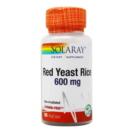 Solaray Vitamins, Minerals, Herbs & More Solaray Red Yeast Rice 600mg 90 caps
