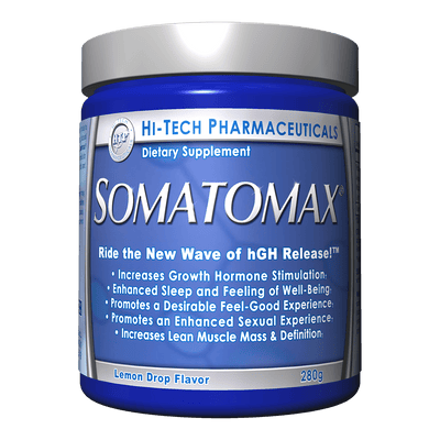 Hi-Tech Pharmaceuticals Sports Nutrition & More Lemon Drop Hi-Tech Pharmaceuticals SOMATOMAX 20 Servings (582573359148)