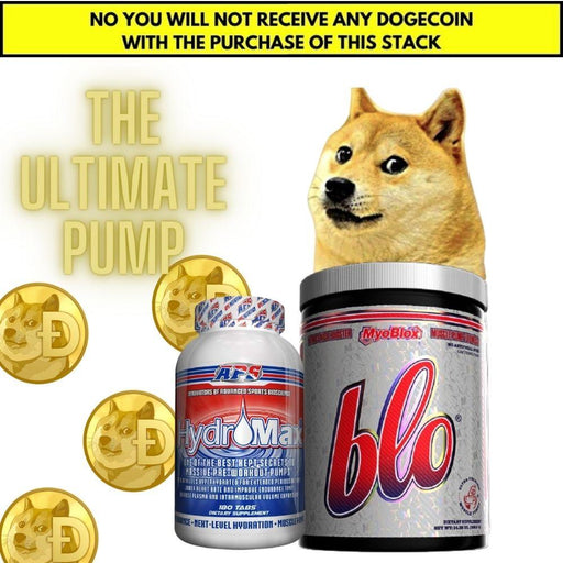 Best Price Nutrition Sports Nutrition & More The Dogecoin Stack - The Ultimate PUMP Stack