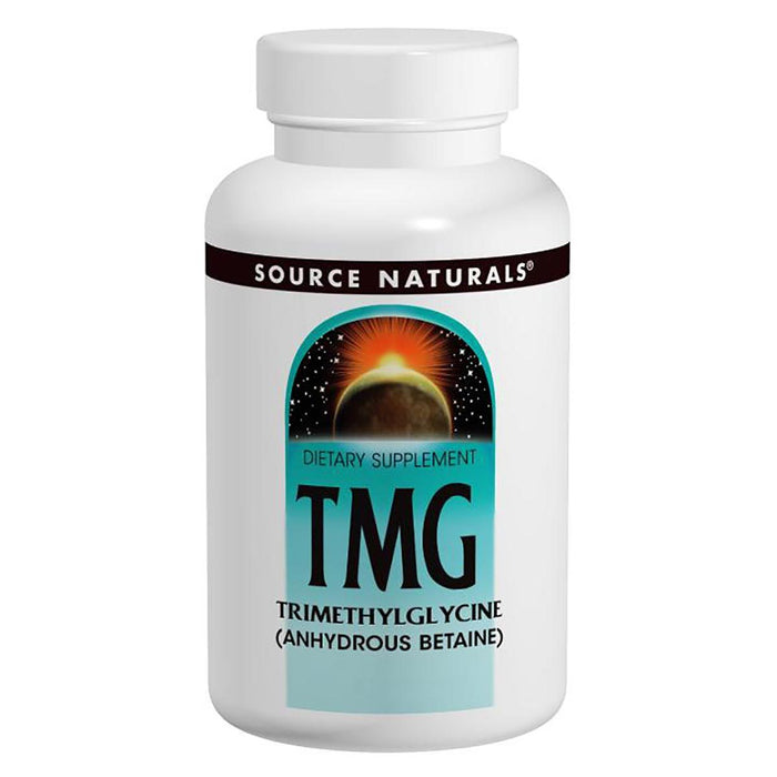 Source Naturals Sports Nutrition & More Source Naturals TMG (Trimethylglycine) 750mg 60 Tablets (580590043180)