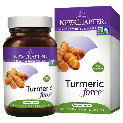New Chapter Vitamins, Minerals, Herbs & More New Chapter Turmeric Force 60 Soft Gels (580766433324)
