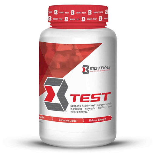 Motiv-8 Sports Nutrition & More Motiv-8 Test 60 Vege Caps (582455820332)