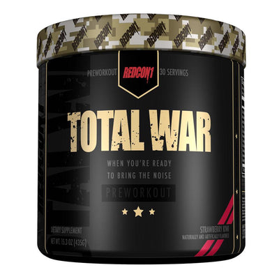 Redcon 1 Sports Nutrition & More strawberry kiwi Redcon1 Total War 30 Servings (582580305964)